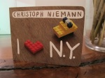 Christoph Niemann's I Lego NY
